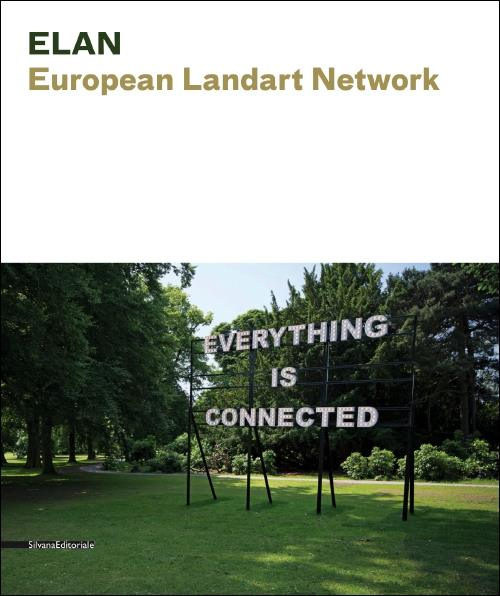 Cover Catalogue European Landart Network at Silvana Editoriale